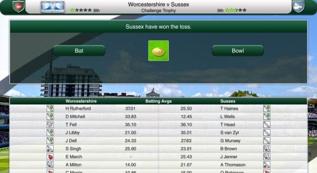 Fantasy cricket Challenge Worcestershire