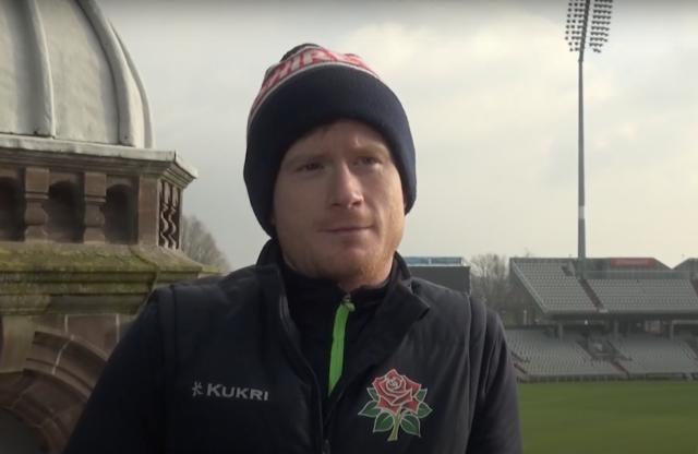 Alex Davies (picture via Lancashire Cricket TV YouTube, with thanks)