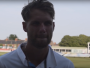 Matt Critchley (picture via Derbyshire TV YouTube, with thanks)